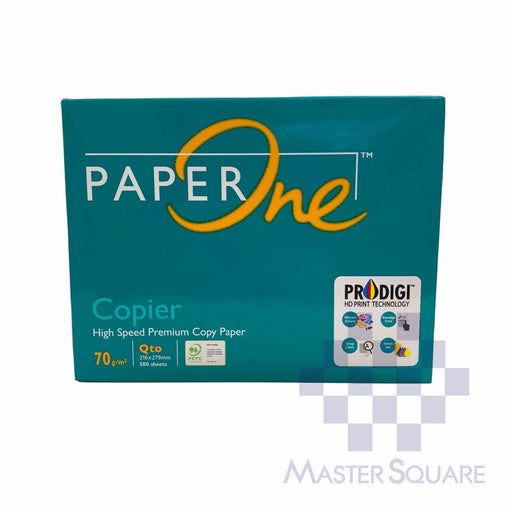 Paper One 8.5 X 11 Sub 20 (Max of 2reams/brand per delivery. Please choose another brand if you wish to add more reams to your order)-Master Square