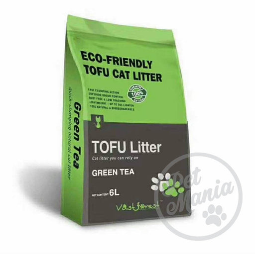 Vast Forrest Tofu Cat Litter 6L Green Tea-Master Square