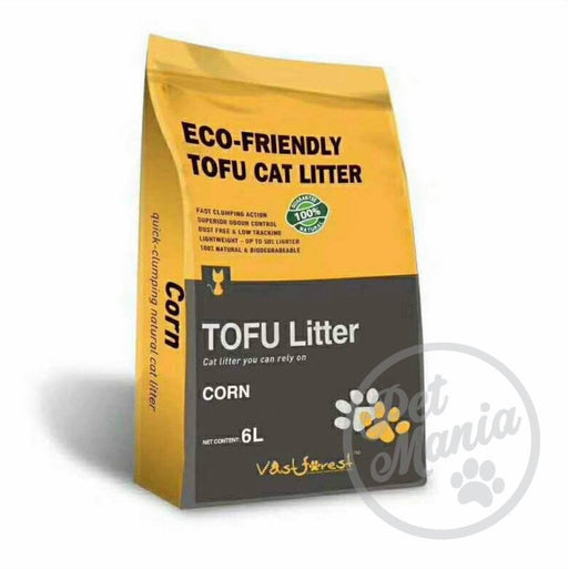 Vast Forrest Tofu Cat Litter 6L Corn-Master Square