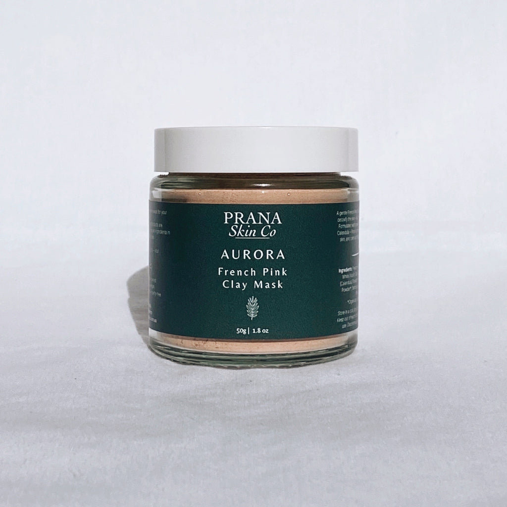 Prana Skin Co Aurora French Pink Clay Mask