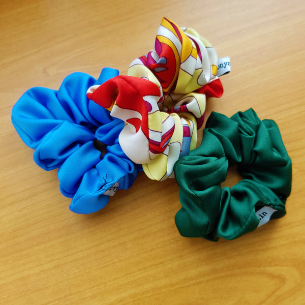 Satin Scrunchie 3 Combo