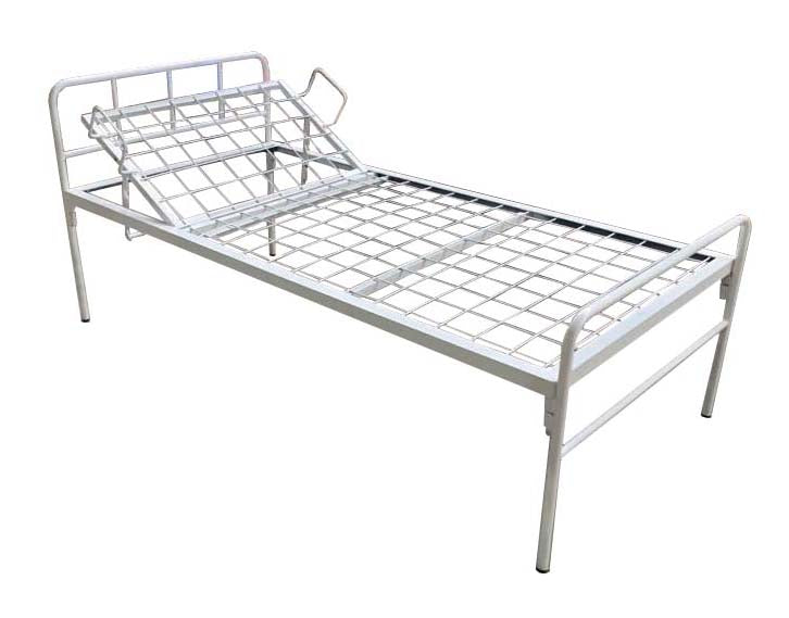 Hospital Bed, Adjustable Headrest