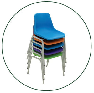 Secondary Innovation Polyshell Chair