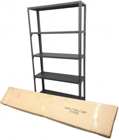 Open Steel Shelving Unit