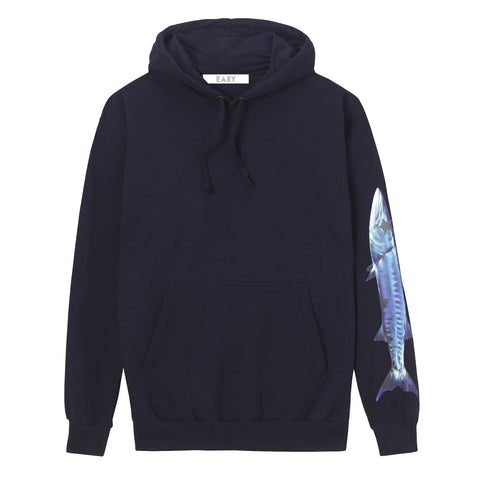 EARY Colour Vinyl print, Hoodie. 'BARRACUDA SERIES'