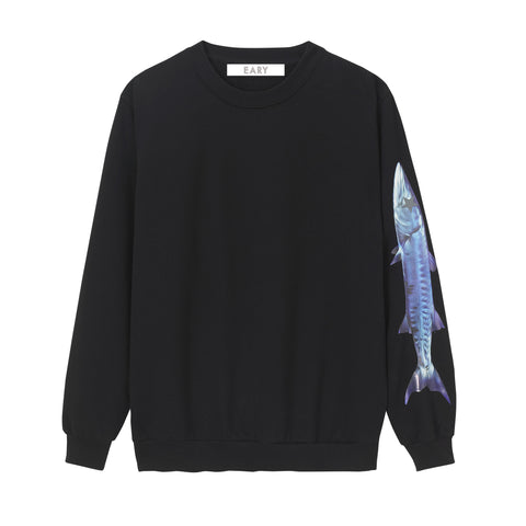 EARY Colour Vinyl print, Sweater. 'BARRACUDA SERIES'