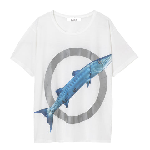 EARY High Visibility print, oversized T-shirt. 'BARRACUDA SERIES'