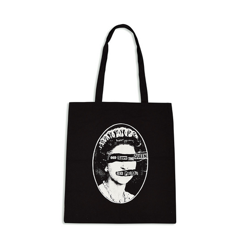 God Save the Queen Tote Bag