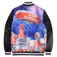 Load image into Gallery viewer, Bottle Blimp Satin Jacket