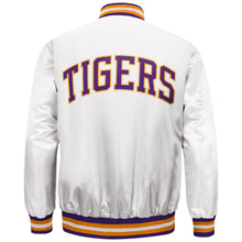 Load image into Gallery viewer, Men's White LSU Tigers Starter Satin Jacket