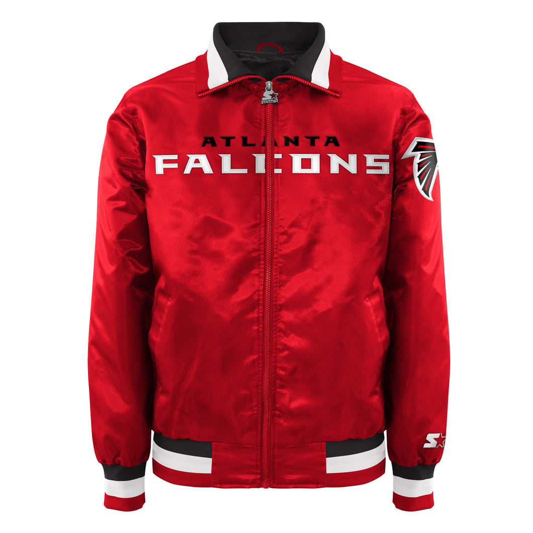 Atlanta Falcons - Men's Starter Satin Jacket