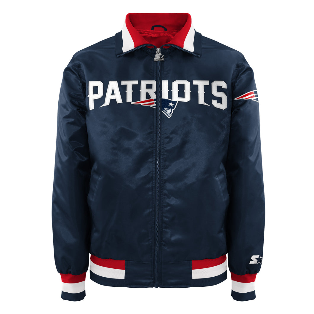 New England Patriots - Men's Starter Satin Jacket