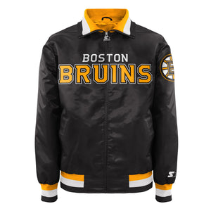 Boston Bruins - Men's Starter Satin Jacket