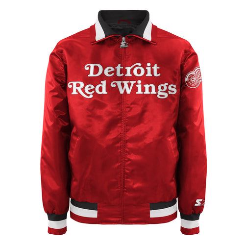 Detroit Redwings - Men's Starter Satin Jacket