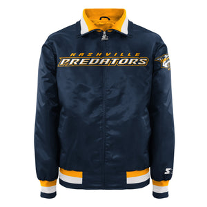 Nashville Predators - Men's Starter Satin Jacket