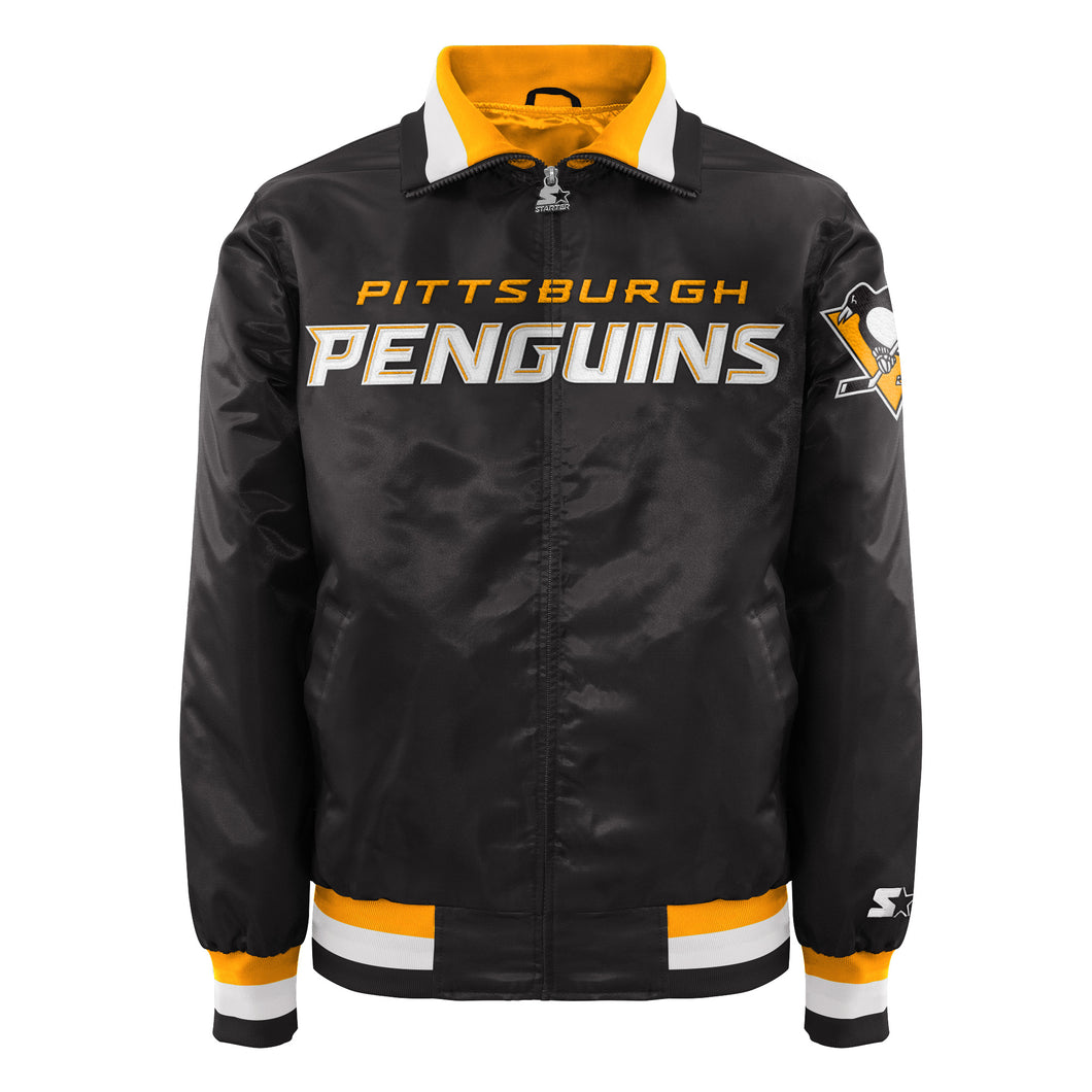 Pittsburgh Penguins - Men's Starter Satin Jacket