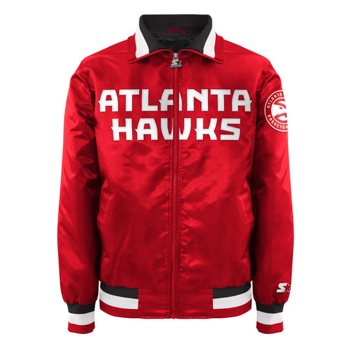 Atlanta Hawks - Men's Starter Satin Jacket