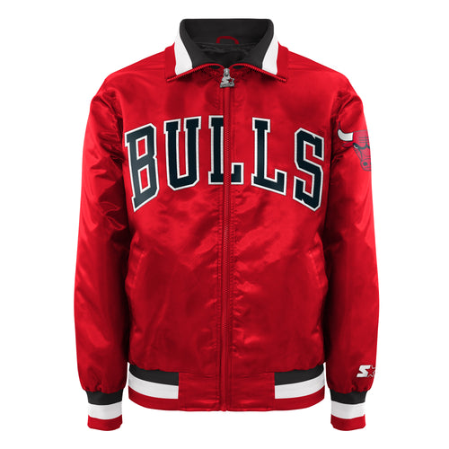 Chicago Bulls - Men's Starter Satin Jacket