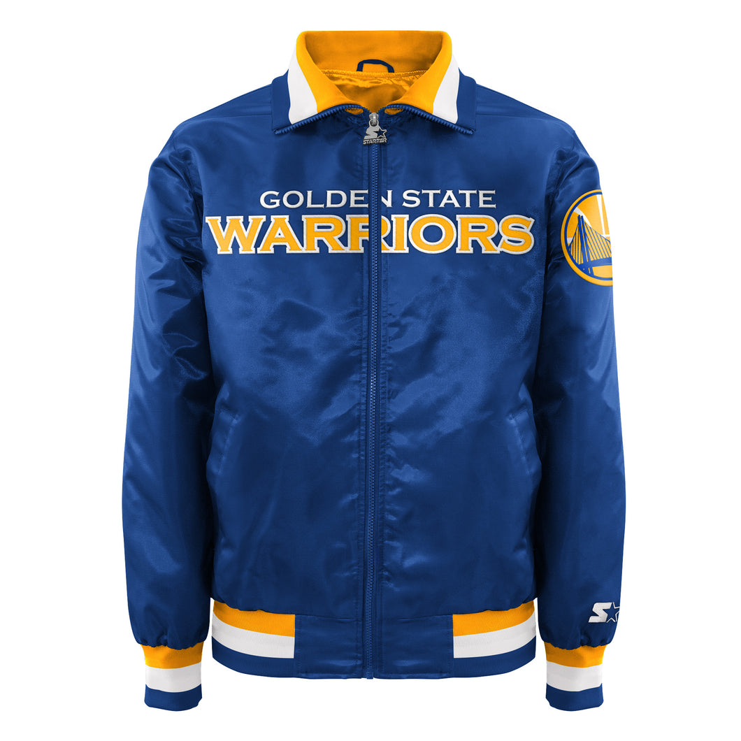 Golden State Warriors - Men's Starter Satin Jacket