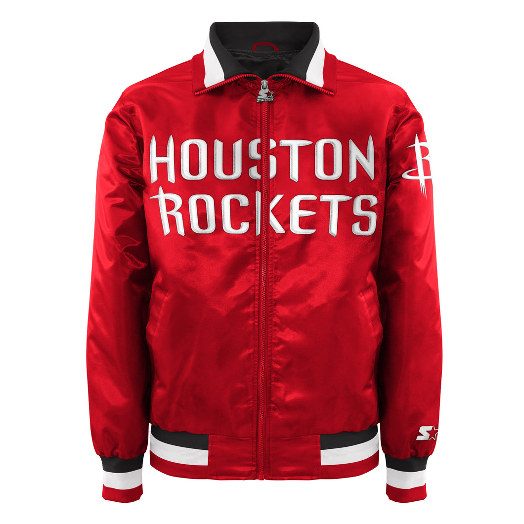Houston Rockets - Men's Starter Satin Jacket