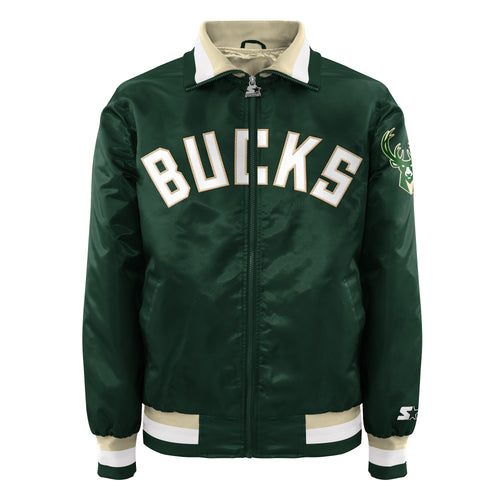 Milwaukee Bucks - Men's Starter Satin Jacket