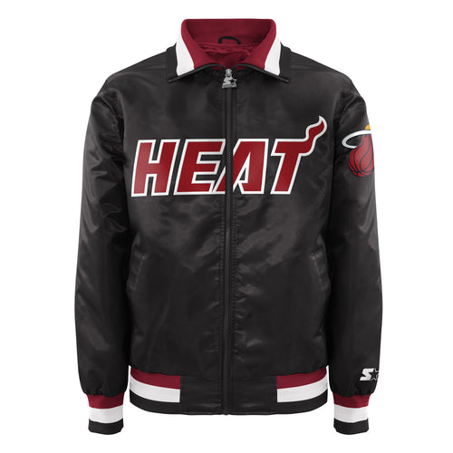 Miami Heat - Men's Starter Satin Jacket