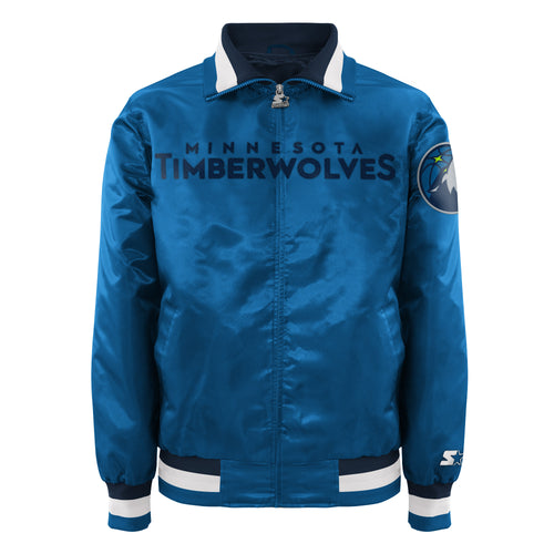 Minnesota Timberwolves - Men's Starter Satin Jacket