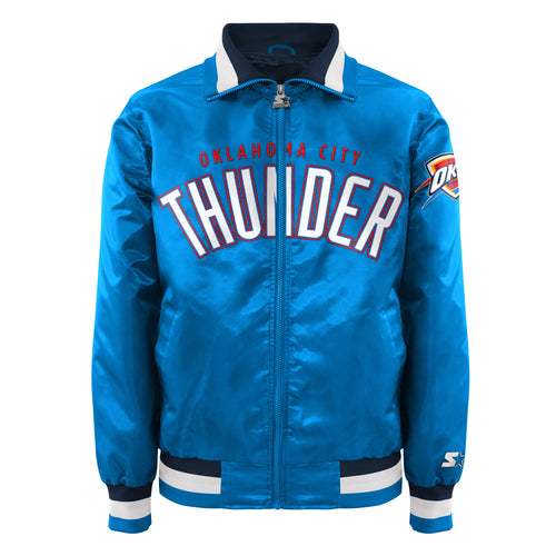 Oklahoma City Thunder - Men's Starter Satin Jacket