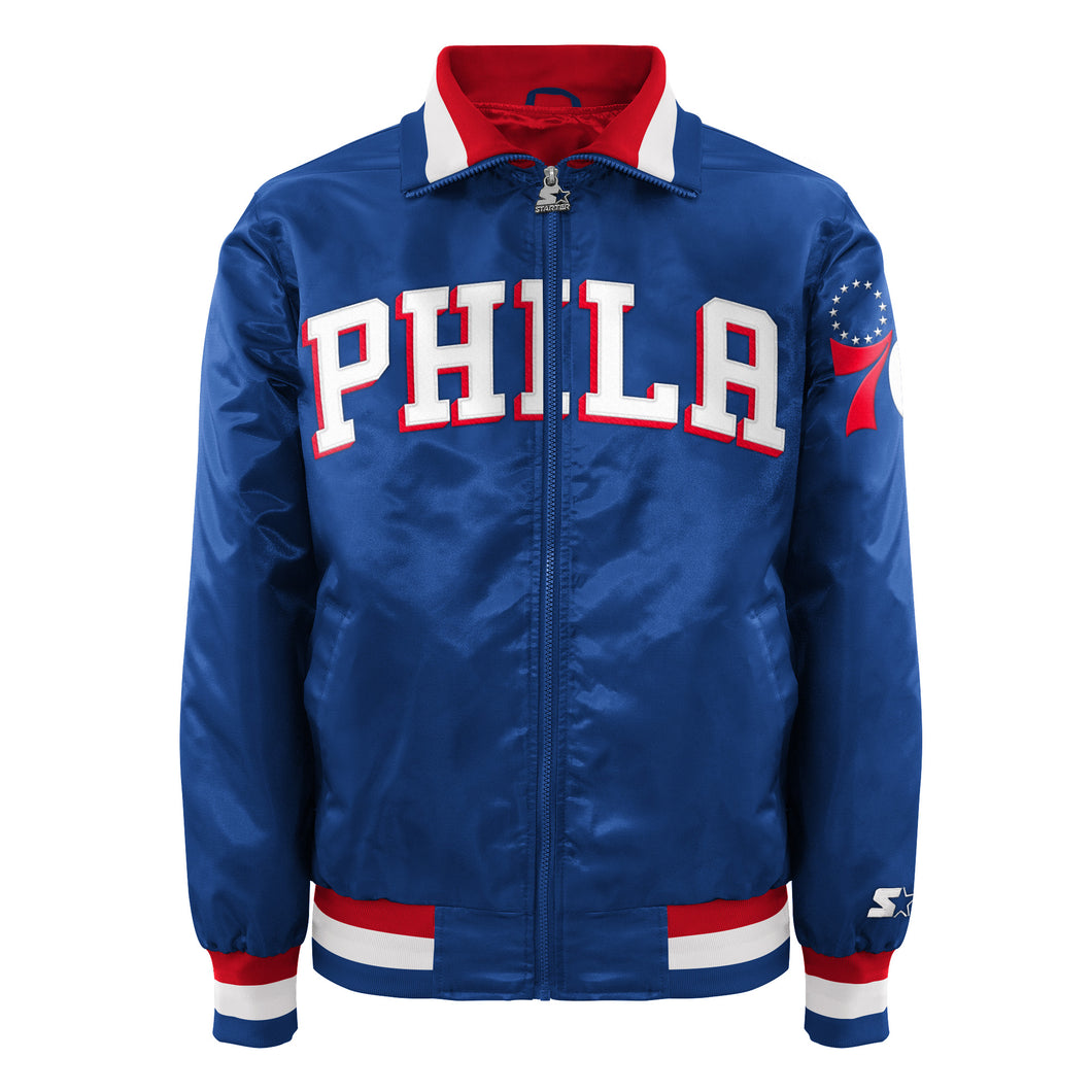 Philadelphia 76ers - Men's Starter Satin Jacket