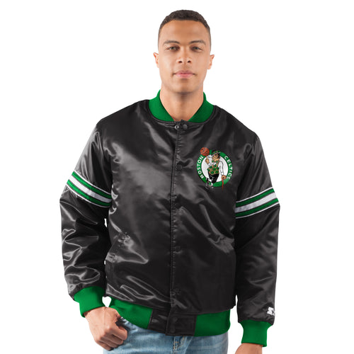 Boston Celtics - The Draft Pick - Men's Starter Satin Jacket