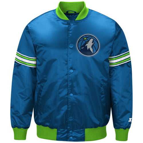 Minnesota Timberwolves - The Draft Pick - Men's Starter Satin Jacket