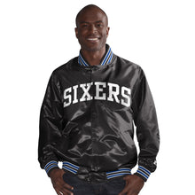 Load image into Gallery viewer, Philadelphia 76ers - The Rookie - Men's Starter Satin Jacket