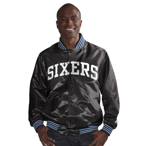 Philadelphia 76ers - The Rookie - Men's Starter Satin Jacket