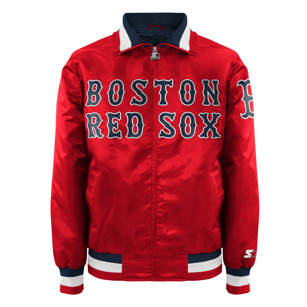 Boston Red Sox - Men's Starter Satin Jacket
