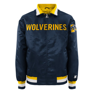 University of Michigan - Men's Starter Satin Jacket
