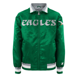 Men's Starter Satin Jacket - Philadelphia Eagles