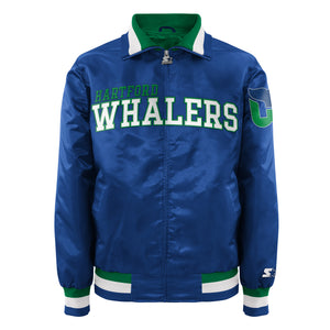 Hartford Whalers - Men's Starter Satin Jacket