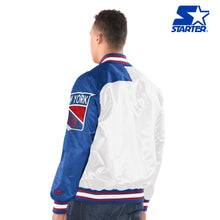 Load image into Gallery viewer, Men's Starter Satin Jacket - New York Rangers