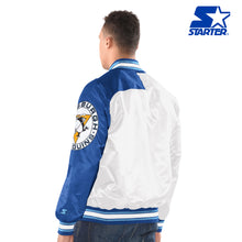 Load image into Gallery viewer, Men's Starter Satin Jacket - Pittsburgh Penguins