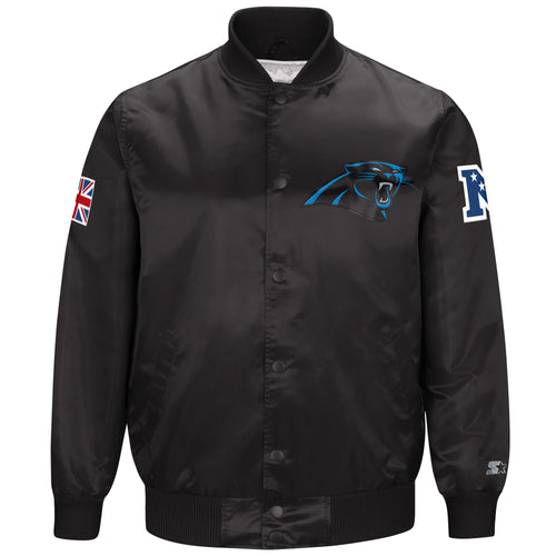 Limited Edition Carolina Panthers Satin Jacket