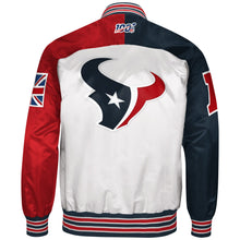 Load image into Gallery viewer, Limited Edition Houston Texans Satin Jacket