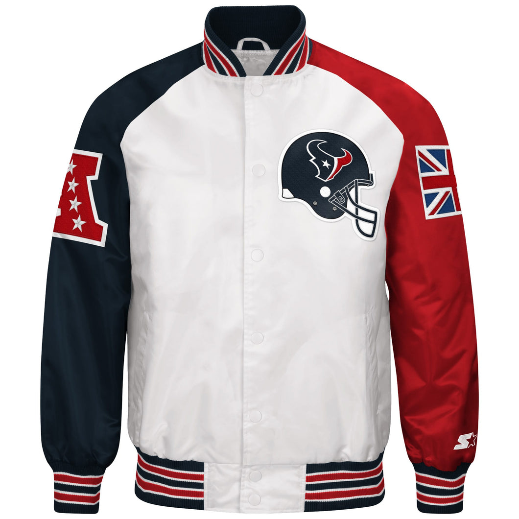 Limited Edition Houston Texans Satin Jacket