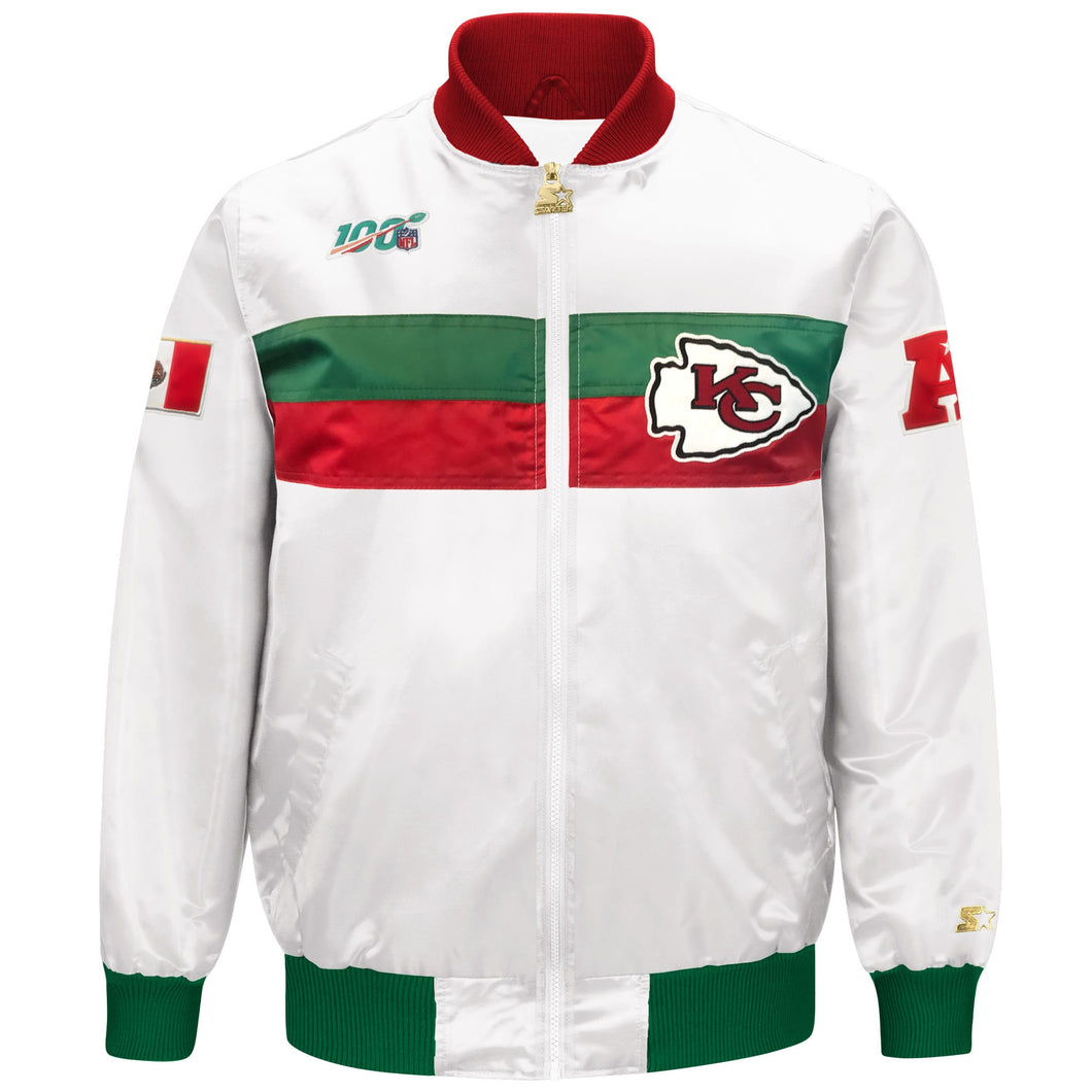 Limited Edition Kansas City Chiefs Satin Jacket
