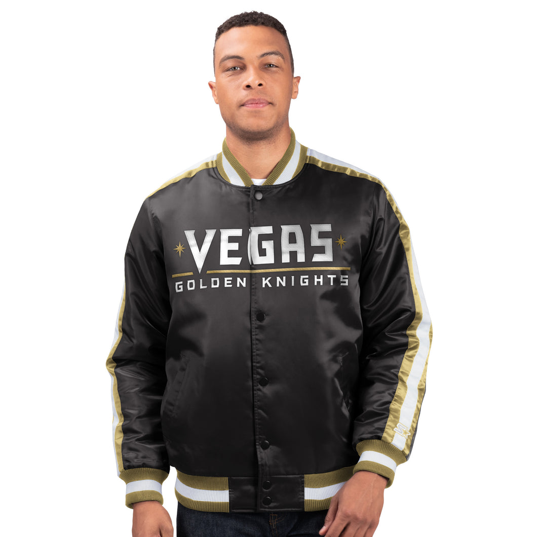Las Vegas Golden Knights - Men's Starter Satin Jacket