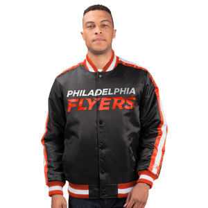 Philadelphia Flyers - Men's Starter Satin Jacket