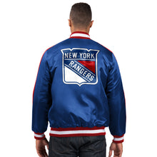 Load image into Gallery viewer, New York Rangers - Men's Starter Satin Jacket