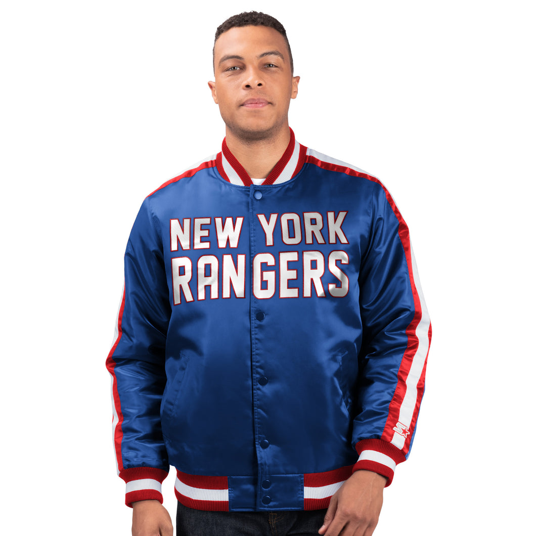 New York Rangers - Men's Starter Satin Jacket