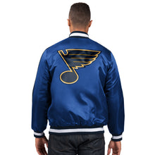 Load image into Gallery viewer, St. Louis Blues - Men's Starter Satin Jacket