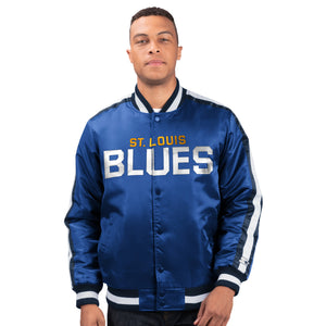 St. Louis Blues - Men's Starter Satin Jacket