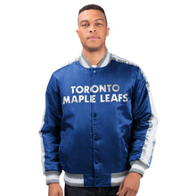 Load image into Gallery viewer, Toronto Maple Leafs - Men's Starter Satin Jacket
